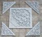 砖雕照壁《荷花》